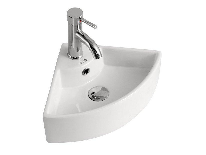 Lavabo mini segovia h angolo ceramica iperceramica