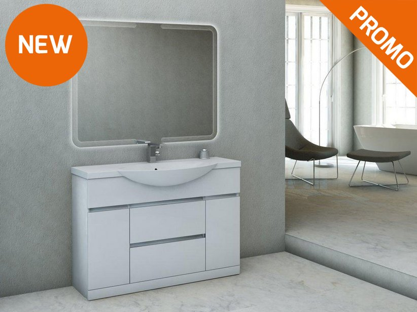Mobile bagno alyssa 120 iperceramica - Iperceramica mobili bagno ...