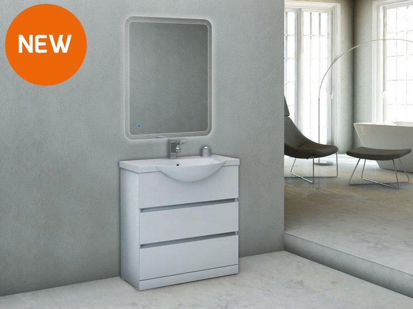 Aqua bagno mobile bagno cm con doppio lavabo bagno in
