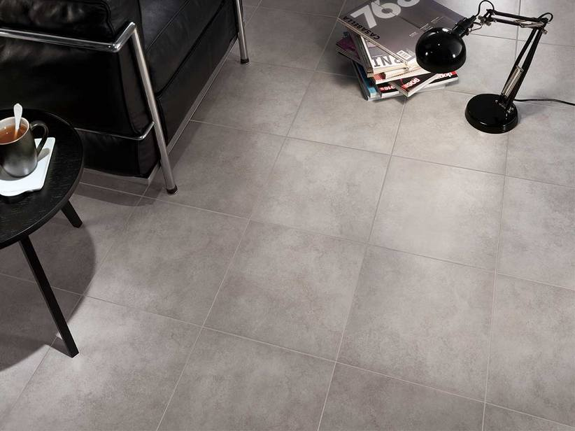 Pavimento in gres porcellanato cementine cold ceramiche