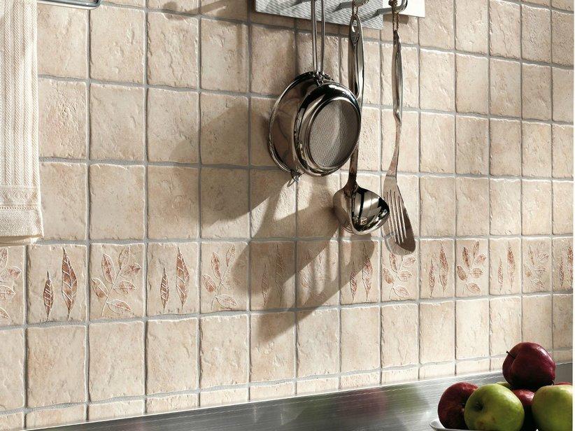 Rivestimento cucina rustica zanzibar iperceramica - Mattonelle rivestimento cucina ...