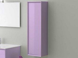 Brera color colonna 33x109 reversibile lilla iperceramica - Mobile bagno lilla ...