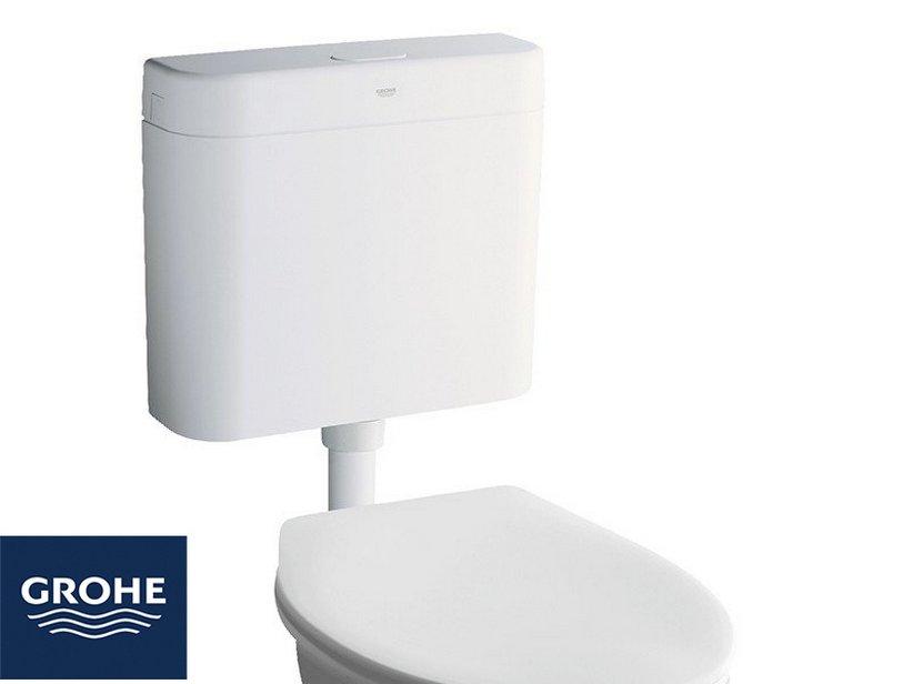 Grohe cassetta esterna 1 tasto bianca iperceramica for Cassetta wc esterna sottile
