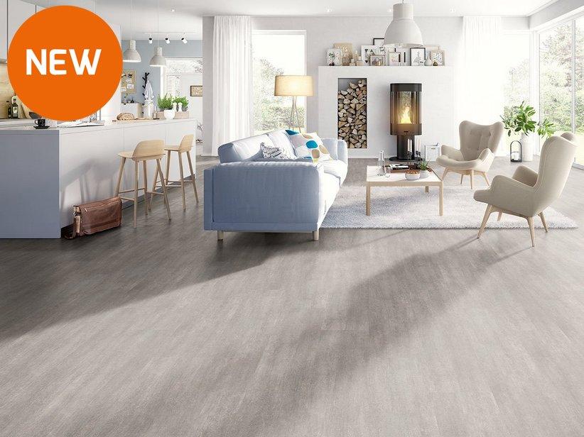 pavimento in laminato effetto cemento cefal iperceramica
