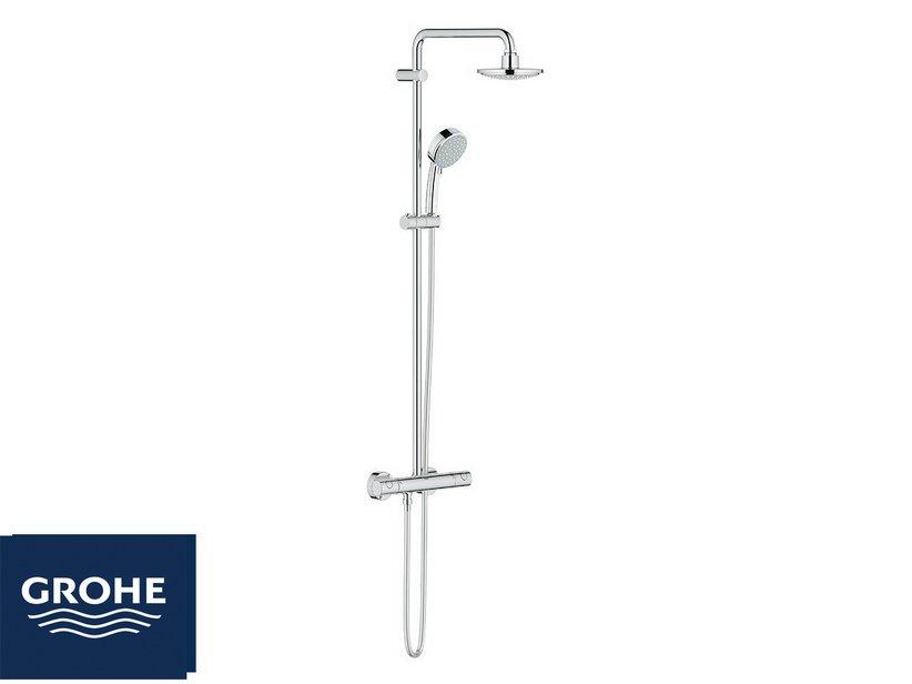Grohe tempesta 160 colonna doccia termostatico iperceramica - Saliscendi per doccia grohe ...