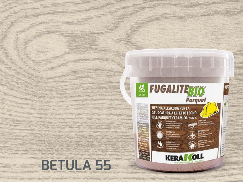 Stucco epossidico birch kerakoll fugalite bio parquet