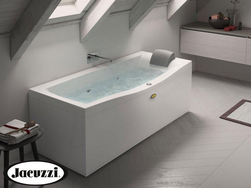 Jacuzzi vasca idro essential 170x70 destro iperceramica for Outlet vasche da bagno