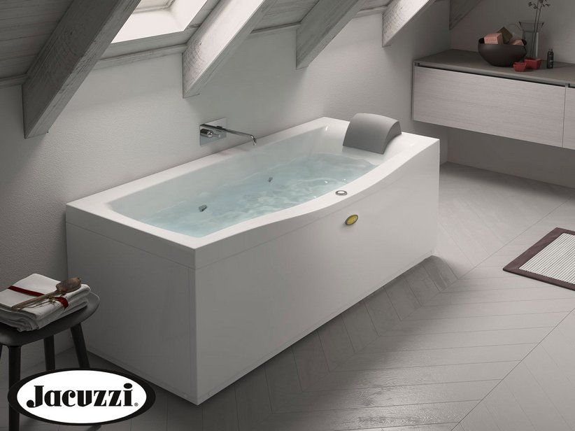 Vasche Da Bagno Jacuzzi Confronta Prezzi : Jacuzzi vasca idro essential destro iperceramica