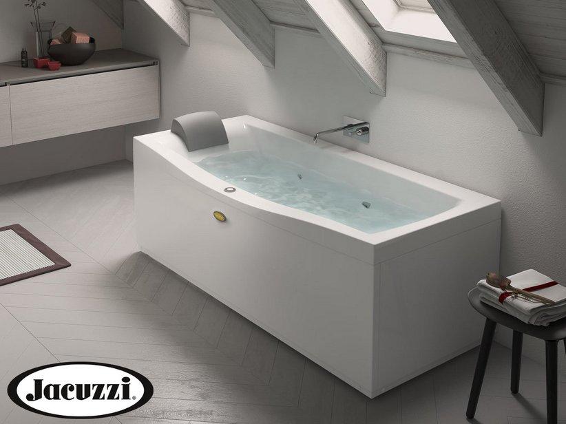 Jacuzzi vasca idro essential 170x70 sinistro iperceramica - Vasche da bagno jacuzzi prezzi ...
