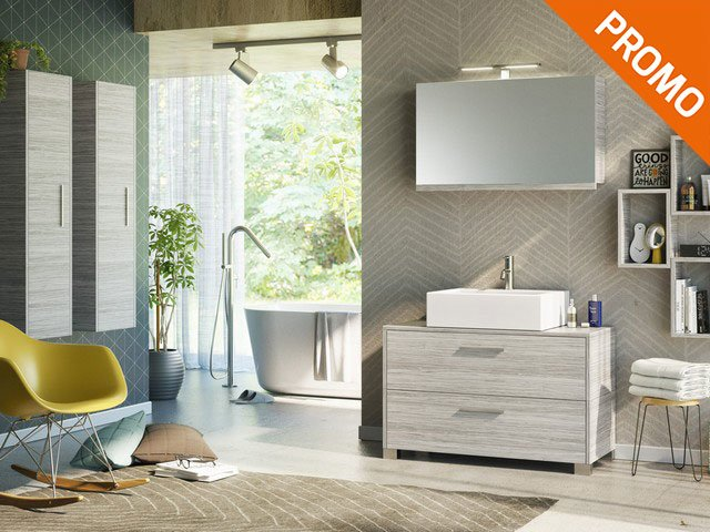 Mobile bagno Jolly 100 Plus a Terra - Iperceramica