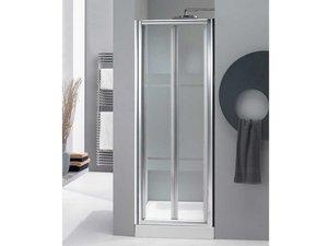 Porta kasai soffietto 90 cristallo serigrafato profili - Porta a soffietto per doccia ...