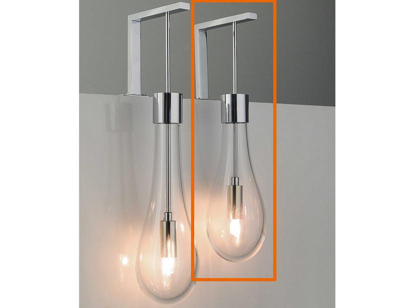 Lampade In Vetro Soffiato : Lampada goccia led vetro soffiato corto iperceramica
