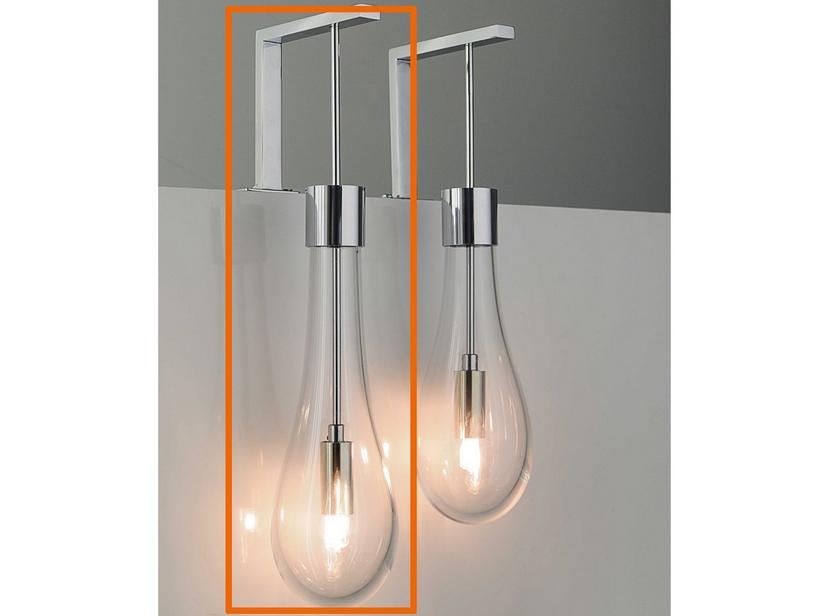 Lampade In Vetro Soffiato : Lampada goccia led vetro soffiato lungo iperceramica