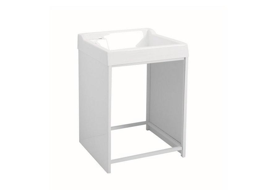Lavacril on mobile sopra lavatrice con struttura in for Mobile bagno sopra lavatrice