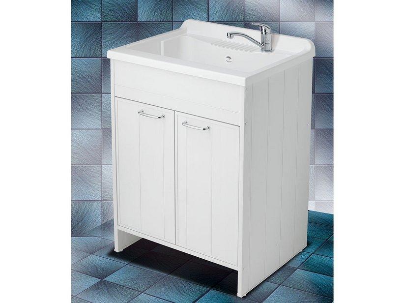 lavatoio garden 60x60 in abs da esterno iperceramica
