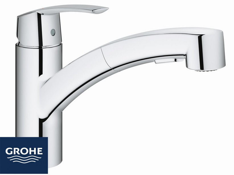 GROHE® START NEW MIX TAP WITH HANDSHOWER 2 JET - Iperceramica