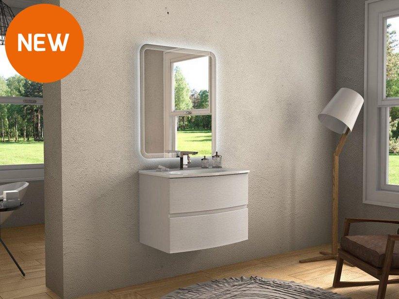 Mobile bagno linda 75 iperceramica - Iperceramica mobili bagno ...