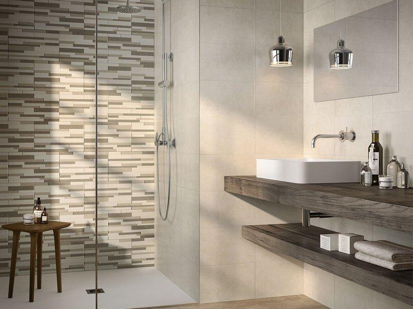 Rivestimento bagno bicottura marato iperceramica for Ceramiche per bagno moderno