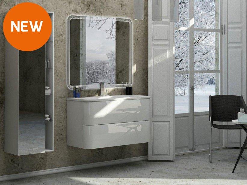 Mobile bagno minoa 100 iperceramica - Iperceramica mobili bagno ...