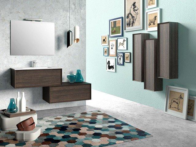 Mobile bagno brera 110 iperceramica - Mobili moderni per bagno ...