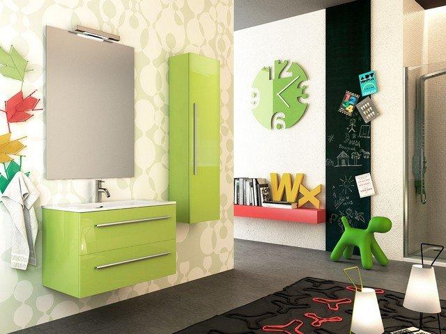 Rivestimento Bagno Verde Mela : Piastrelle bagno verdi excellent piastrelle regina azzurro avorio