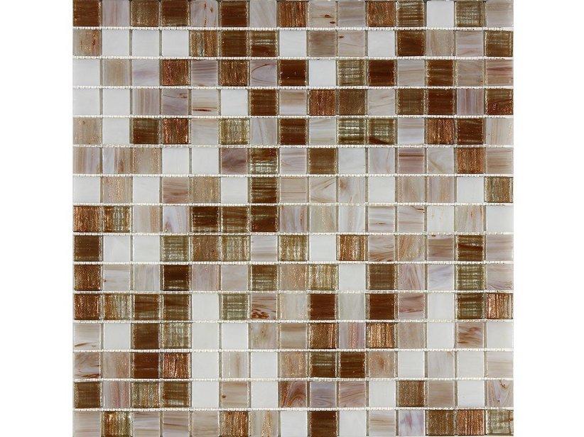 Mosaico vetro artico iperceramica for Mosaico vetro bagno