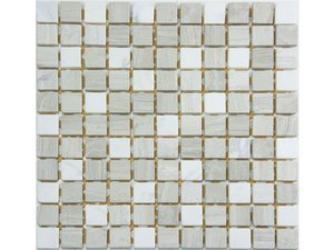 MOSAICO COVENTRY TAUPE 30,5X30,5 7MM
