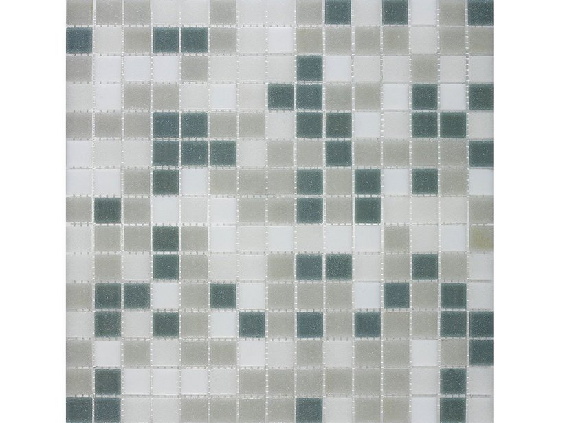 MOSAICO VETRO M10 MIX GREY