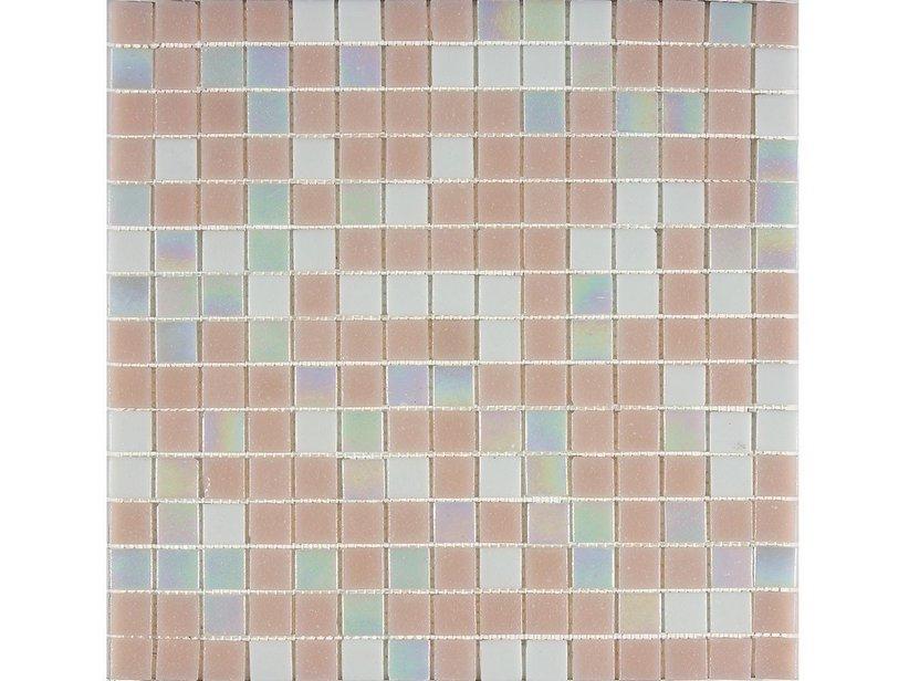 Mosaico vetro mix rosa iperceramica - Mosaico vetro bagno ...