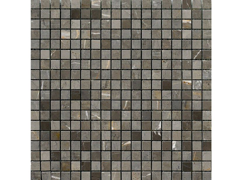 Mosaico persia grigio new 30 5x30 5 iperceramica - Mosaico grigio bagno ...