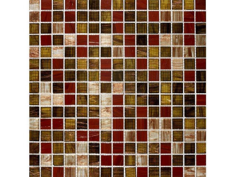 Mosaico vetro red charme iperceramica - Mosaico vetro bagno ...