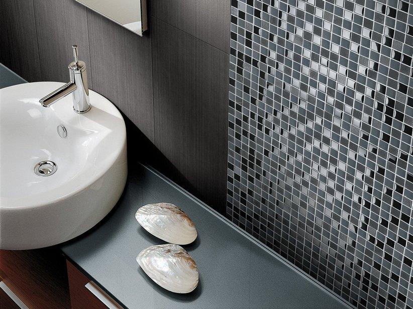 Mosaico lavagna nero 29 5x29 5 iperceramica - Mosaico bagno outlet ...
