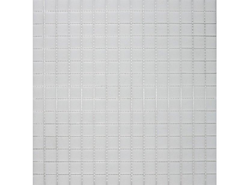Mosaico vetro a10 classic white iperceramica for Mosaico vetro bagno