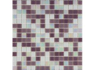 Mosaico vetro mix lilla iperceramica for Mosaico vetro bagno