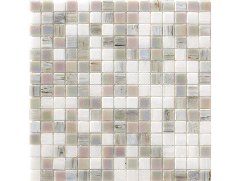 Mosaico vetro perlabianca iperceramica - Mosaico vetro bagno ...