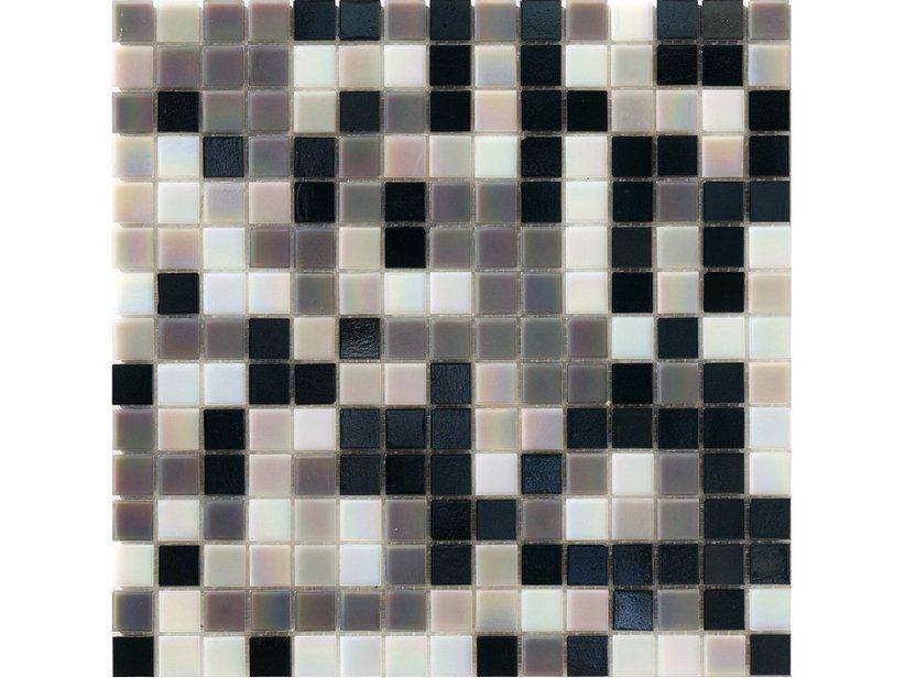 Mosaico vetro perlagrigia iperceramica - Mosaico vetro bagno ...