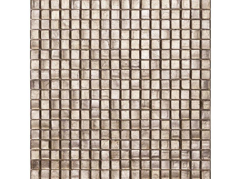 Mosaico vetro argento antico iperceramica - Mosaico vetro bagno ...