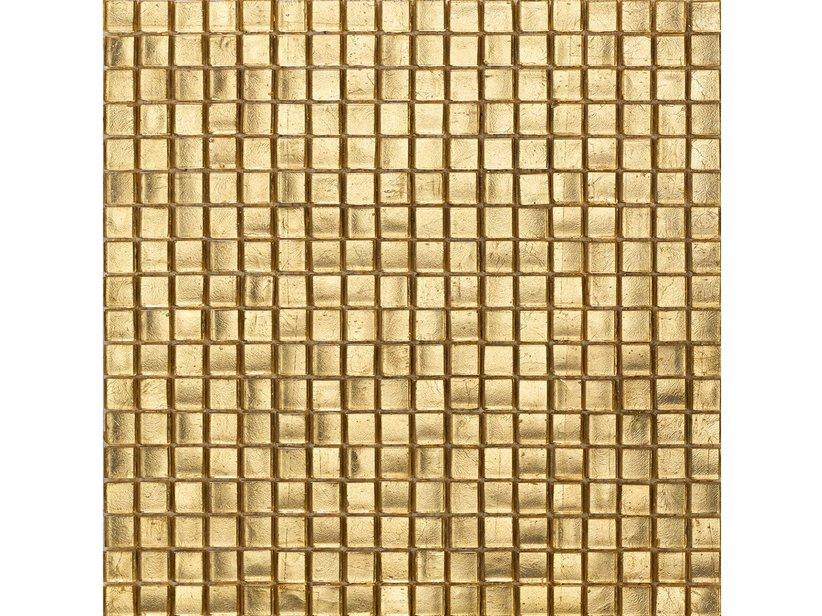 Mosaico vetro oro antico iperceramica for Mosaico vetro bagno