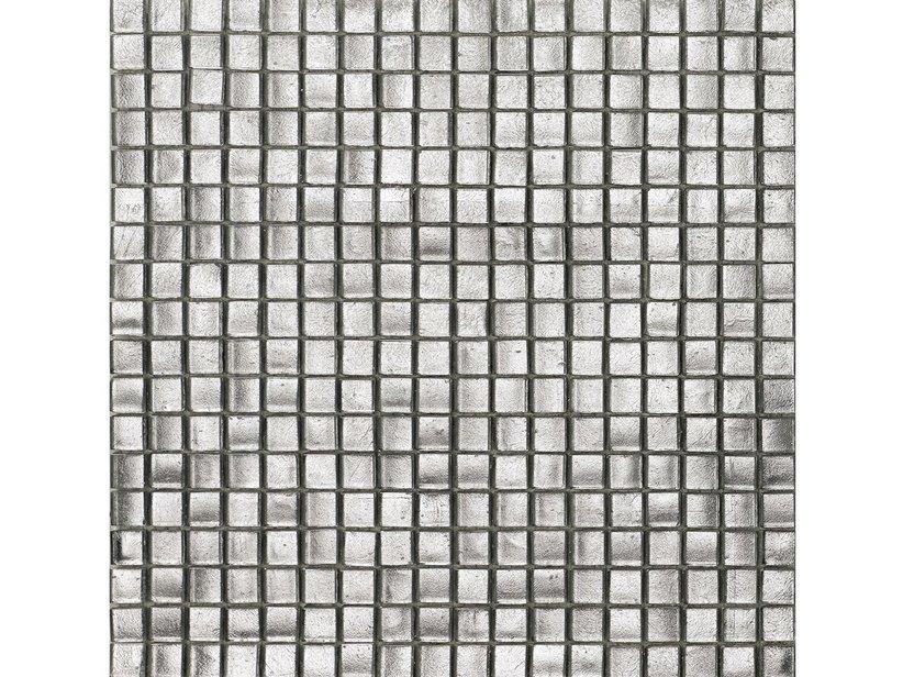 Mosaico vetro platinopuro iperceramica - Mosaico vetro bagno ...