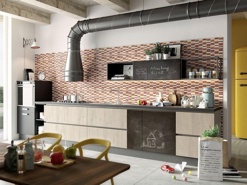 Rivestimento cucina bicottura mosaico mycolor iperceramica for Piastrelle mosaico per cucina