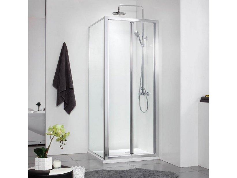 Neptum porta soffietto lato fisso 70x90 iperceramica - Porta a soffietto per doccia ...