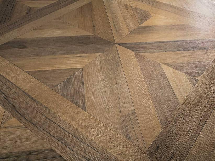 Pavimento in gres effetto legno a cassettoni - Piastrelle in gres porcellanato effetto legno prezzi ...