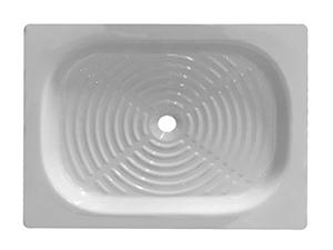 Piatti per doccia rettangolari in diverse misure e materiali