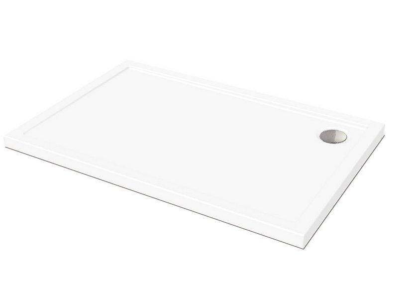 Awesome piatto doccia flat x altezza bianco with piatto doccia da rivestire - Rivestire piatto doccia ...