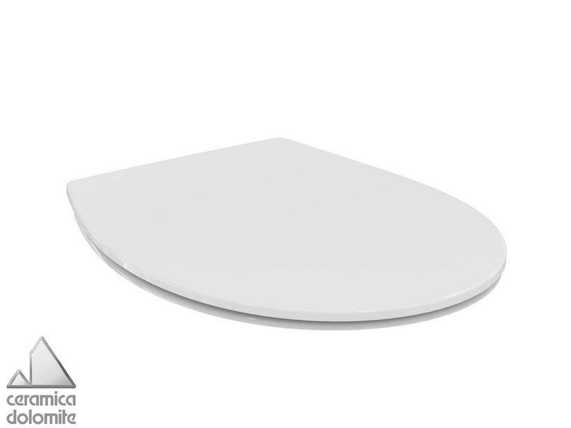 Sedili Wc Dolomite : Dolomite mia lavabo vaso sospeso con sedile e bidet avec dolomite