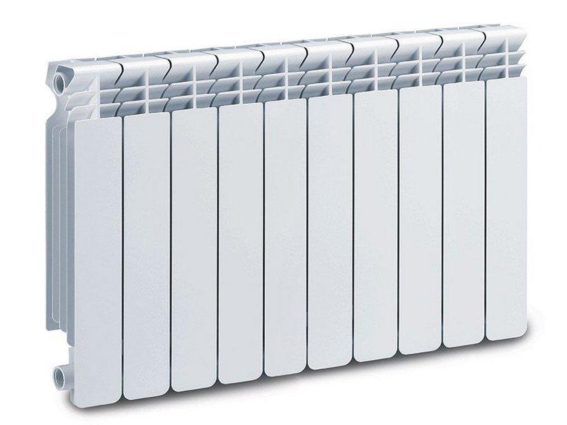 Helyos radiatore interasse 800 10 elementi 1740w bianco for Radiatori in alluminio