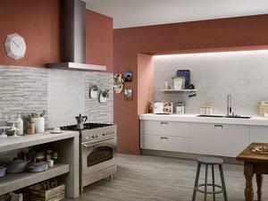 Rieti decor grigio 20x45 iperceramica for Catalogo piastrelle cucina