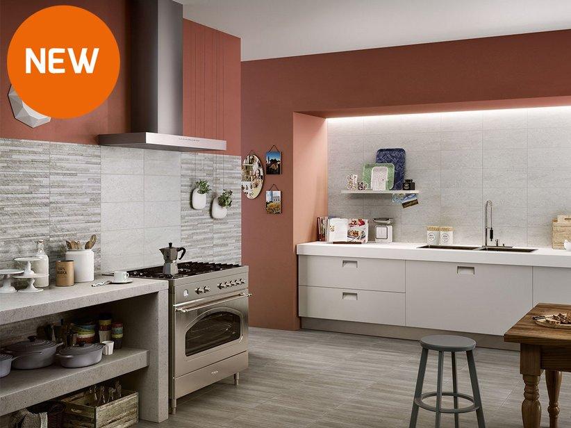 rivestimenti e piastrelle per la cucina  iperceramica, Disegni interni