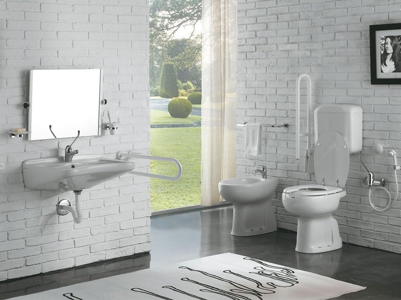 Accessori Bagno Handicap: Bagni per disabili sanitari e ...