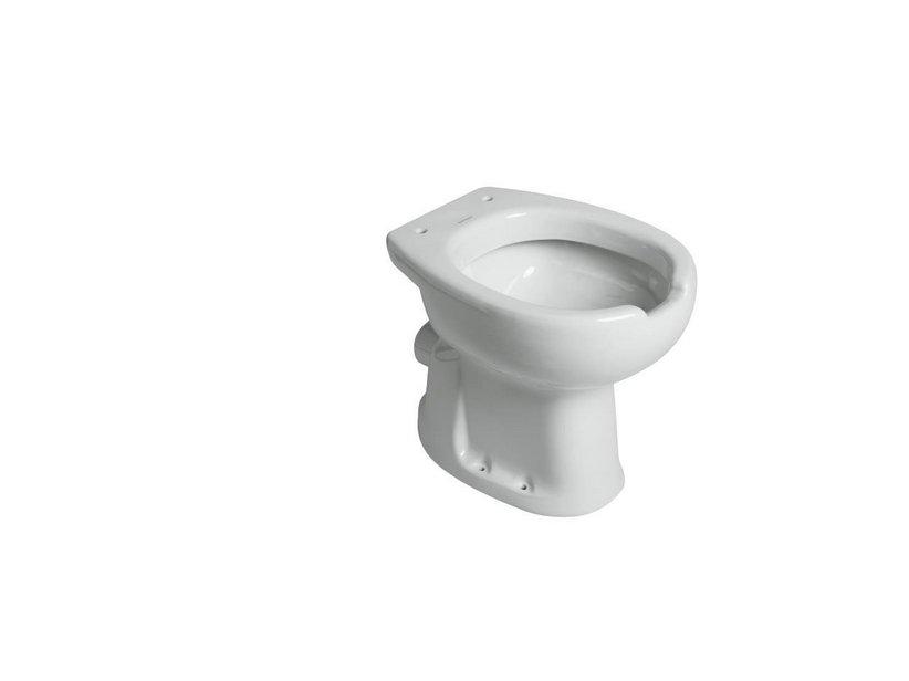 Saniwat wc scarico parete apertura frontale iperceramica for Scarico wc a parete